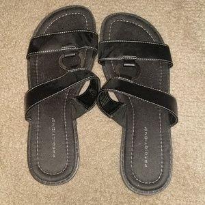 Brand new slip on sandals